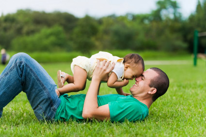 Father and Baby - Denver Colorado Lawyer Attorney Family Law Estate Planning Domestic Partnership Dissolution Domestic Partnership Agreement Gay Rights Single Parent Child Custody Adoption Spousal Maintenance Child Support LGBT GLBT
