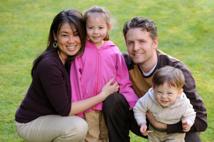 Family of Four - Denver Colorado Lawyer Attorney Family Law Estate Planning Child Custody Adoption Spousal Maintenance Child Support